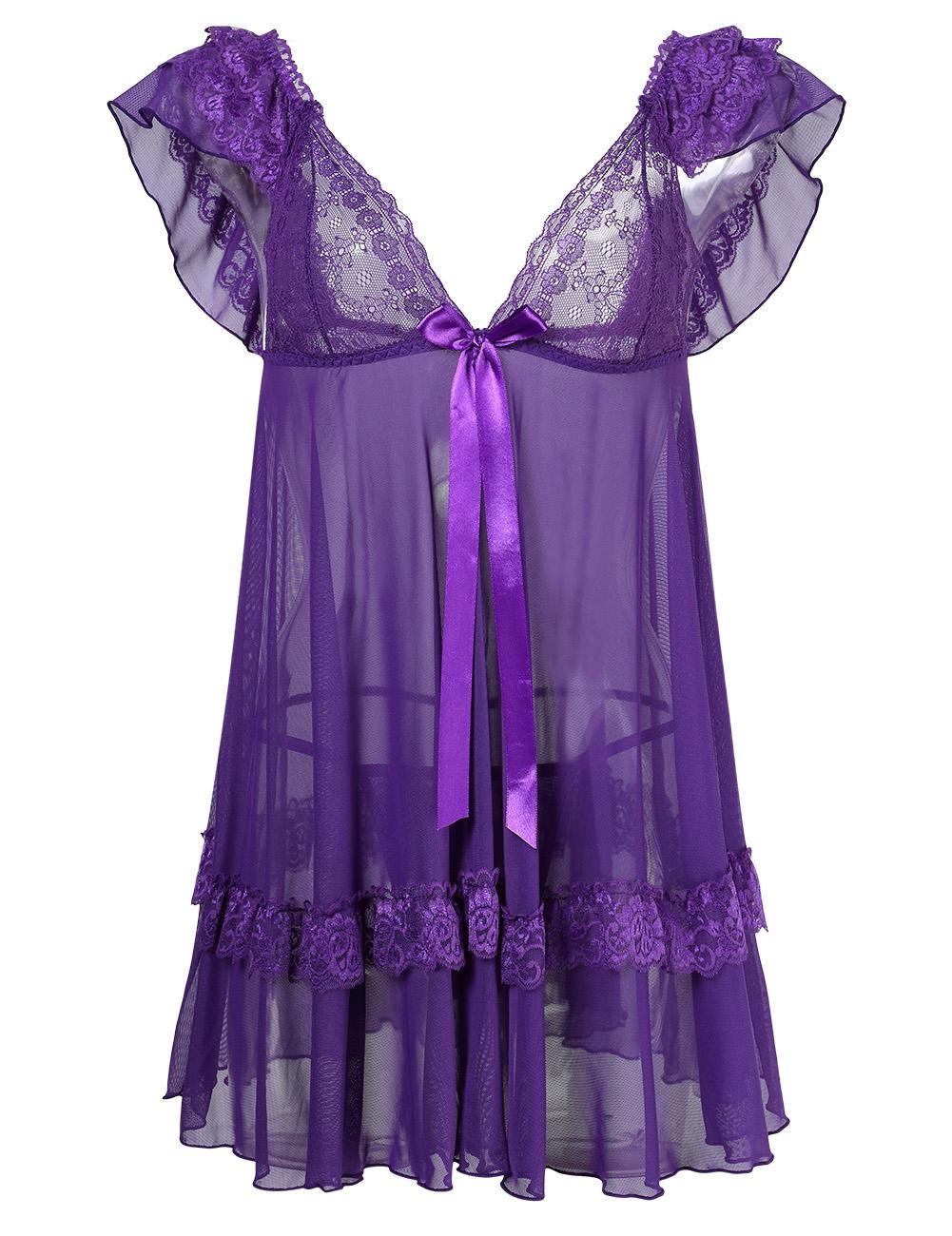 lace lingerie dress - photo #29