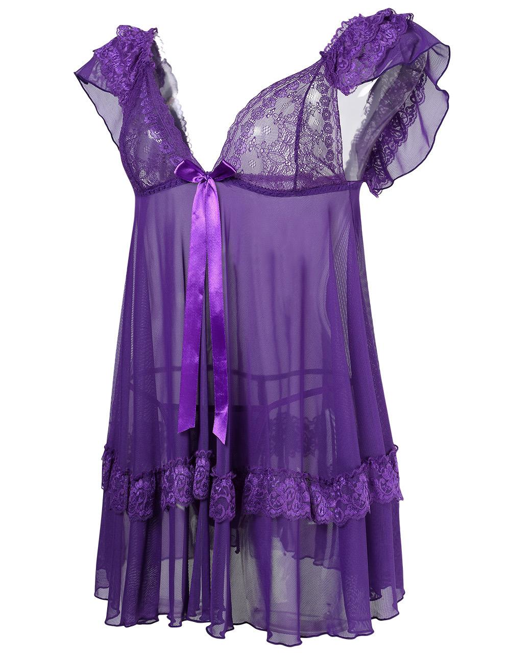 lace lingerie dress - photo #33