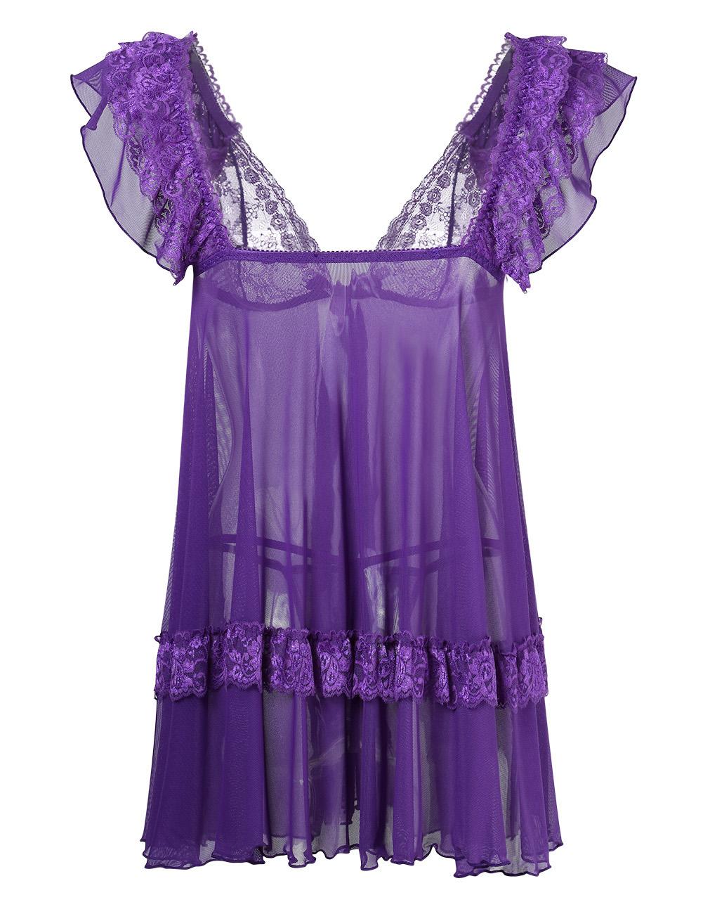 lace lingerie dress - photo #36