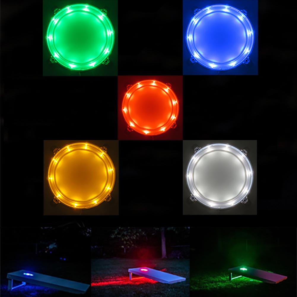 Image result for Cornhole board lights
