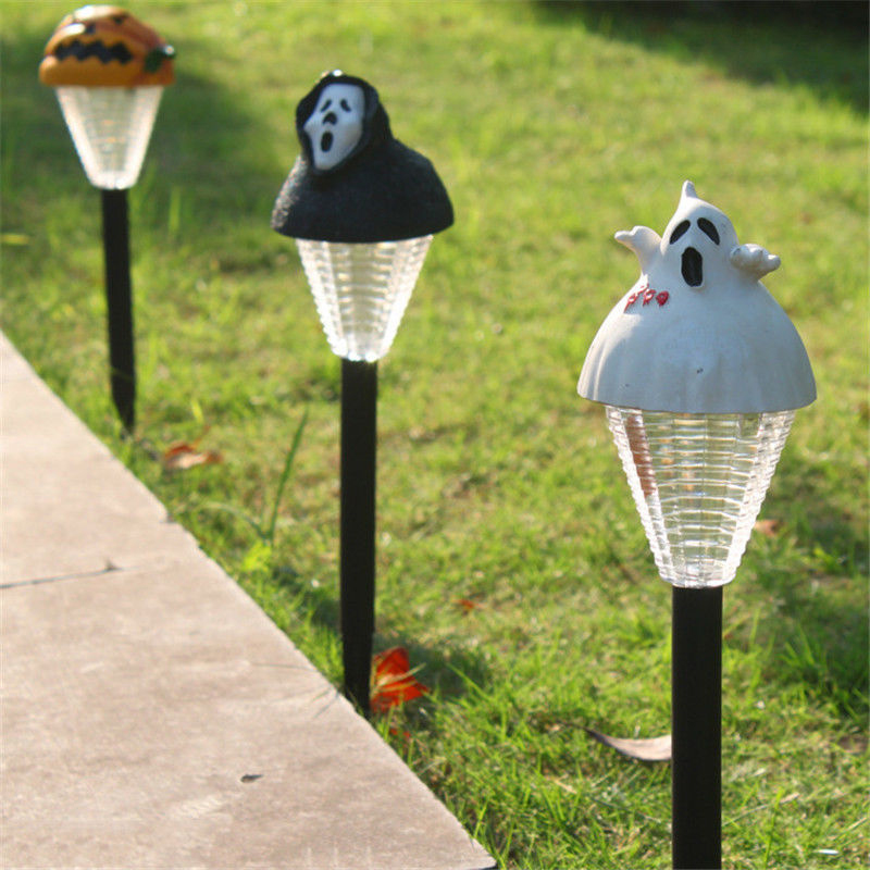 Funny Lamp funny scary solar led outdoor light rain resistance for hallowmas