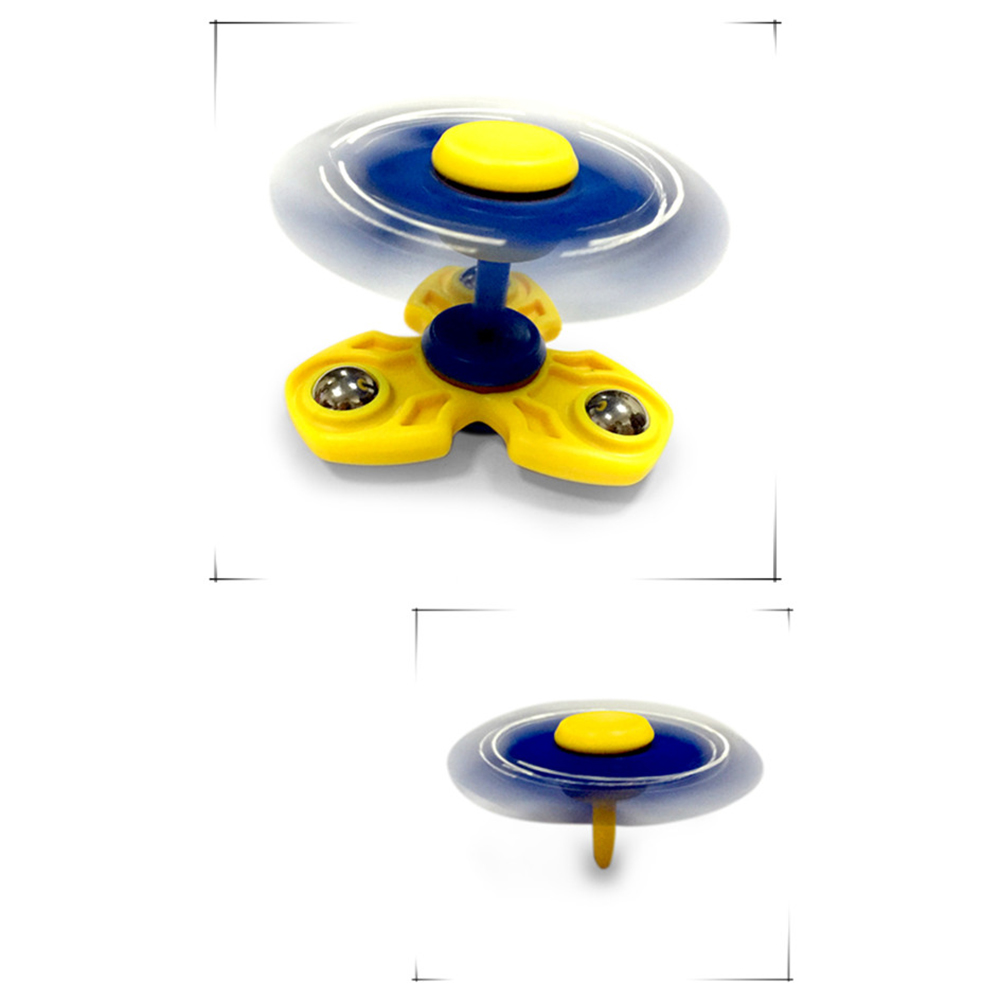 Toys Of Autism : Fidget spinner plastic tri spinning finger toys for autism