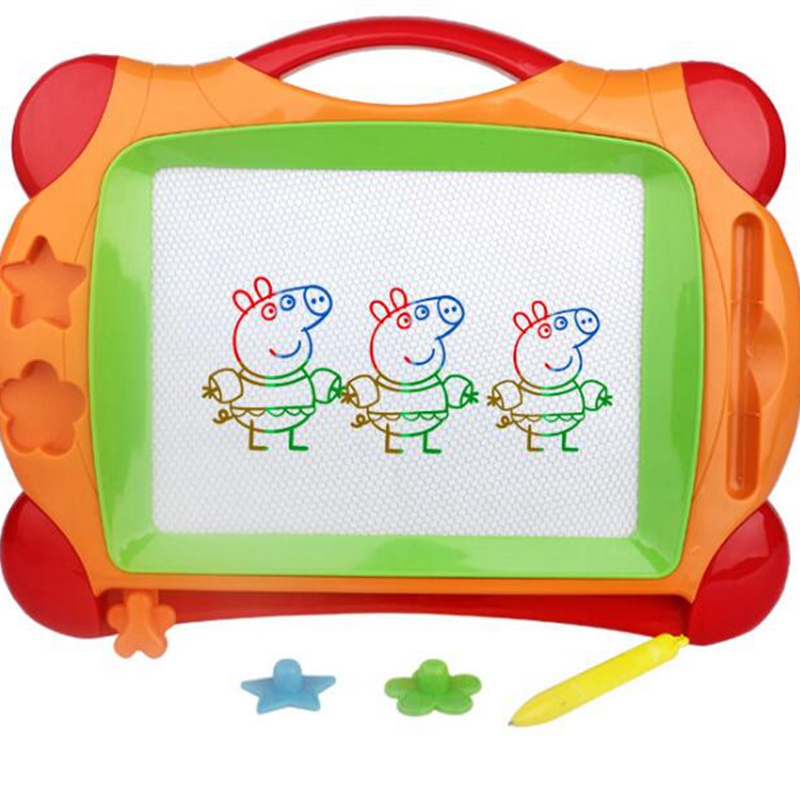 Big Color Magnetic Drawing Board Easy Writer Doodle Pad Kids Boy Girl Toy Gift