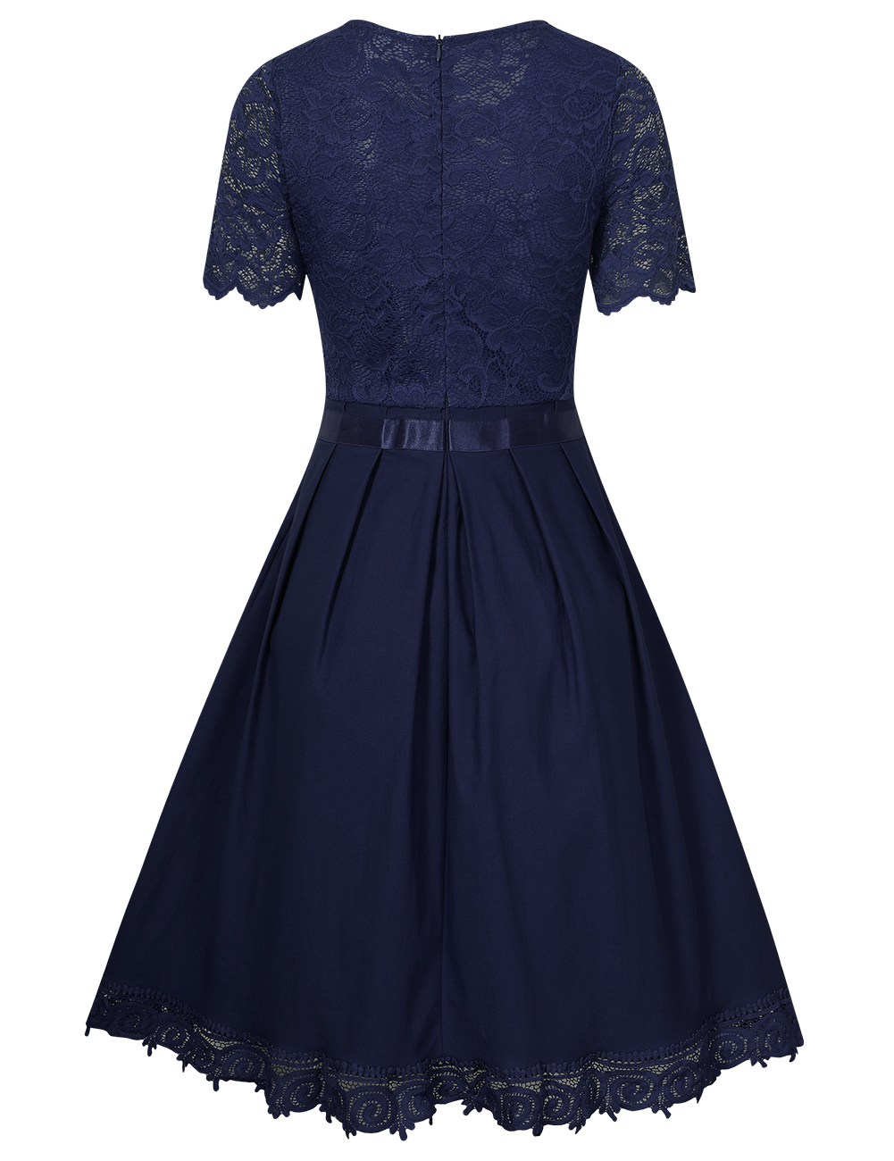 how to make a retro a line dress