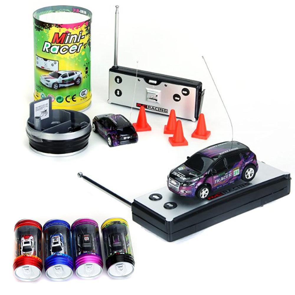 Multicolor Coke Car Mini Speed RC Radio Remote Control Micro Racing Car Toy YM Kinderfahrzeuge