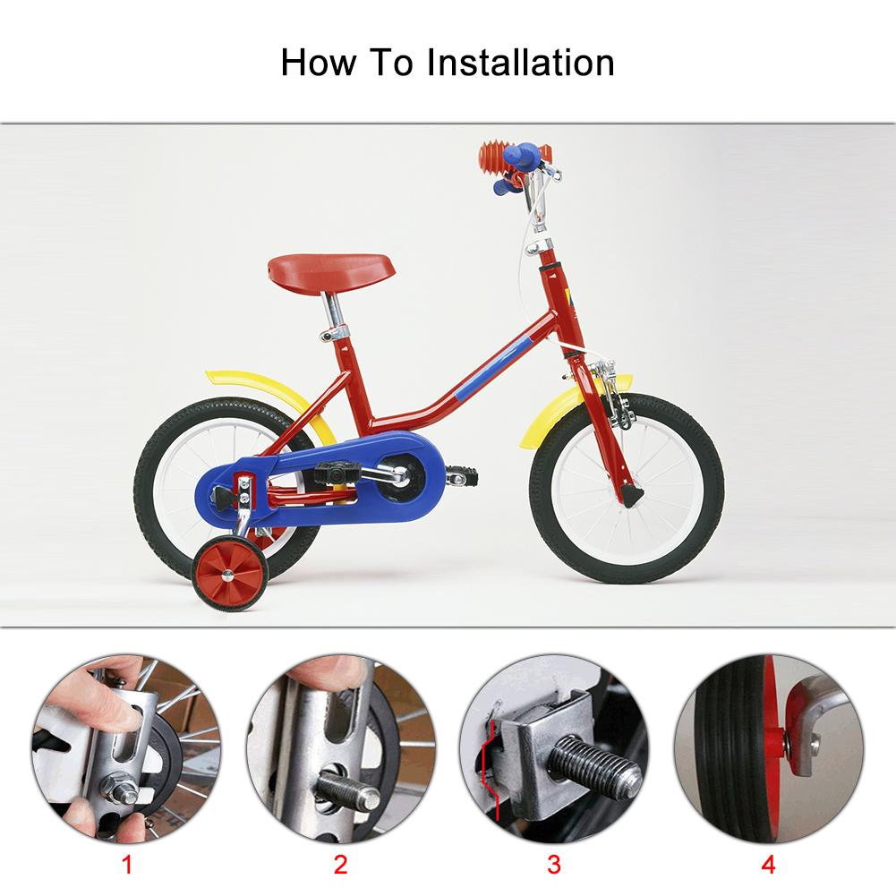 bike fahrrad st tzr der 10 20 zoll rollen kinder bike. Black Bedroom Furniture Sets. Home Design Ideas