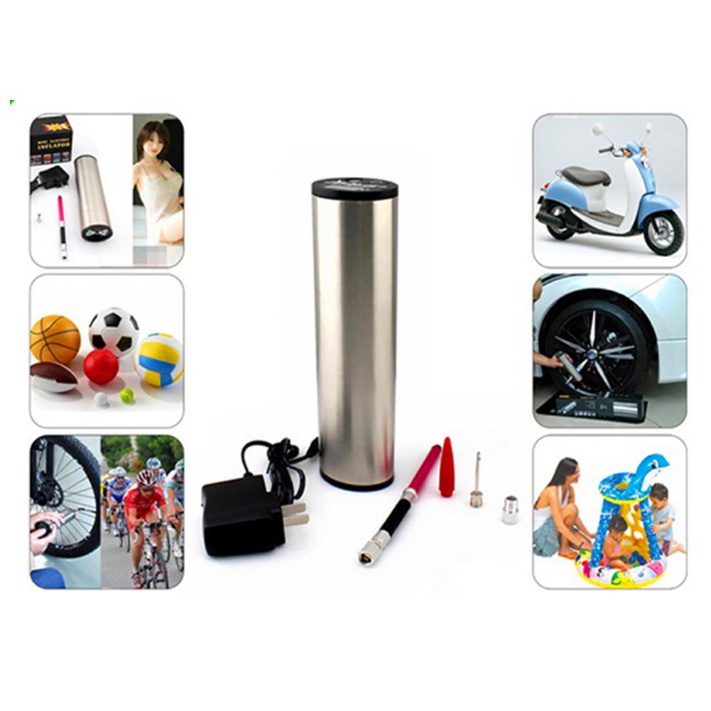 hochleistungs luftpumpe mit liion akku kompressor fahrrad camping schlauchboot ebay. Black Bedroom Furniture Sets. Home Design Ideas