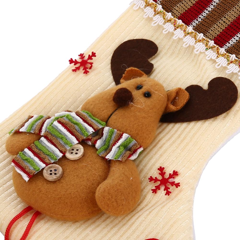 Rentier weihnachtsmann schneemann dekorative str mpfe for Rentier dekoration