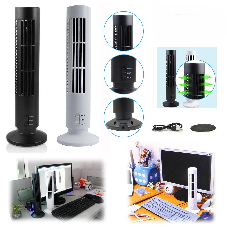 mini usb vertikaler blattloser ventilator klimaanlage. Black Bedroom Furniture Sets. Home Design Ideas
