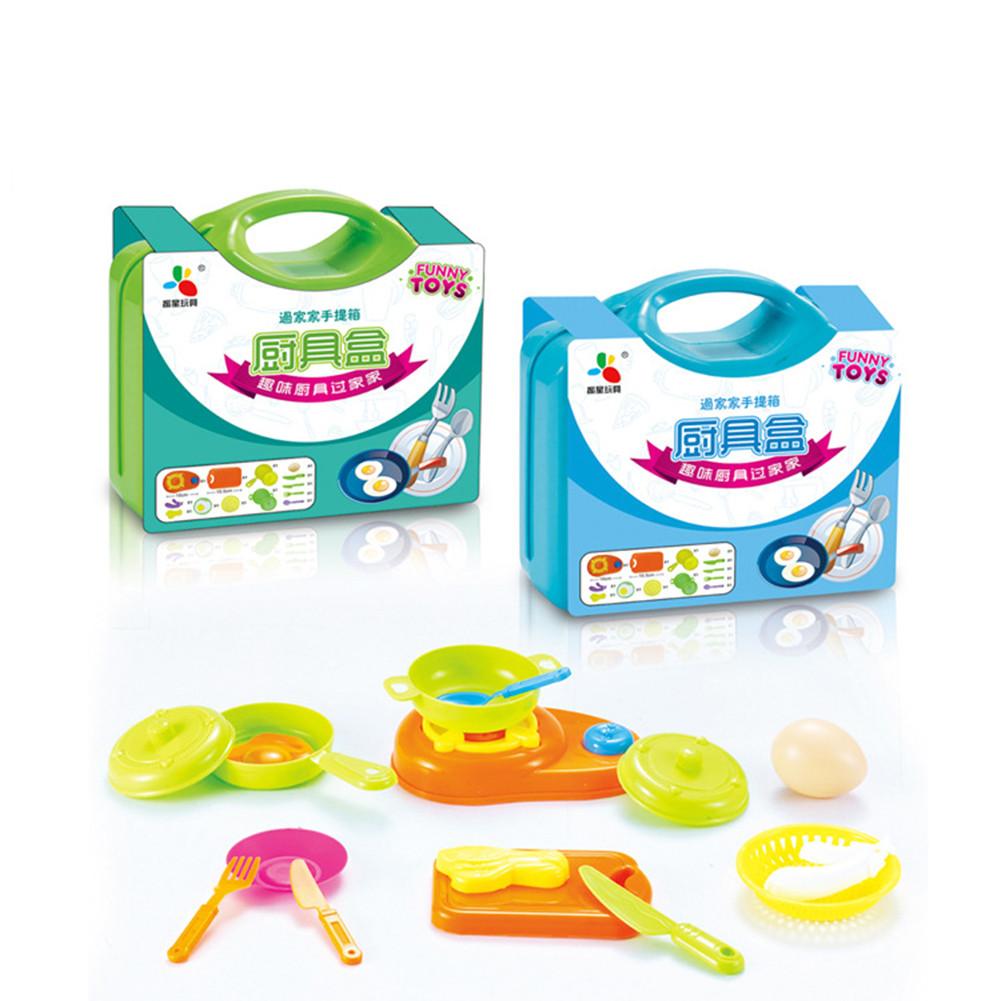 13Pcs/set Kitchen Pretend Play Children Simulation Cooking Tableware ...