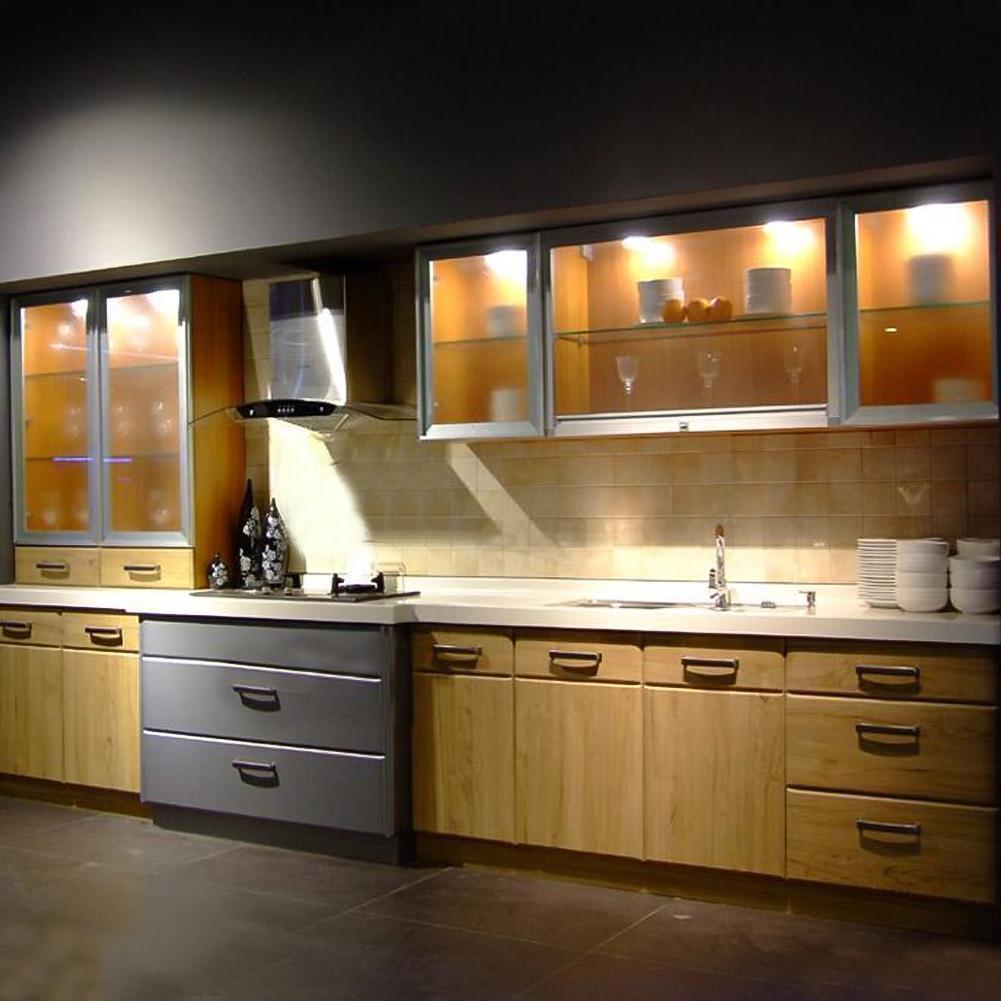 Lights For Under Kitchen Cabinets: 3 Pack LED Puck Under Cabinet Closet Lights Remote