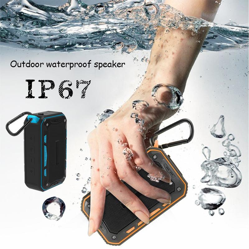 Outdoor-Multifunction-Waterproof-Stereo-Bluetooth-Speaker-with-Bicycle-Holder