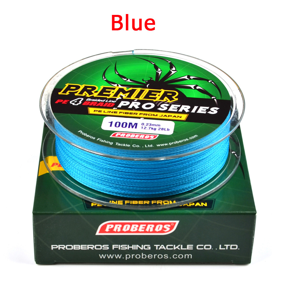100M Super Strong Braided Wire Fishing Line PE Multifilament Carp ...