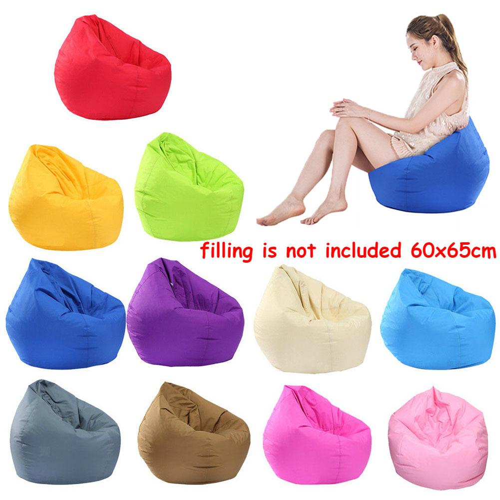 Waterproof Stuffed Animal Storage Bean Bag Chair Cover