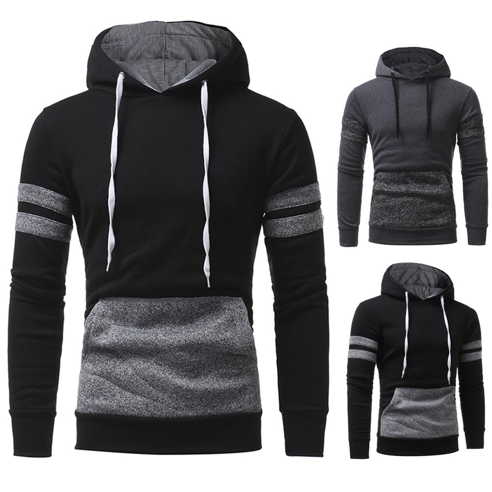 Fashion Men/'s Hoodie Warm Hooded Sweatshirt Coat Jacket Outwear Jumper Sweater