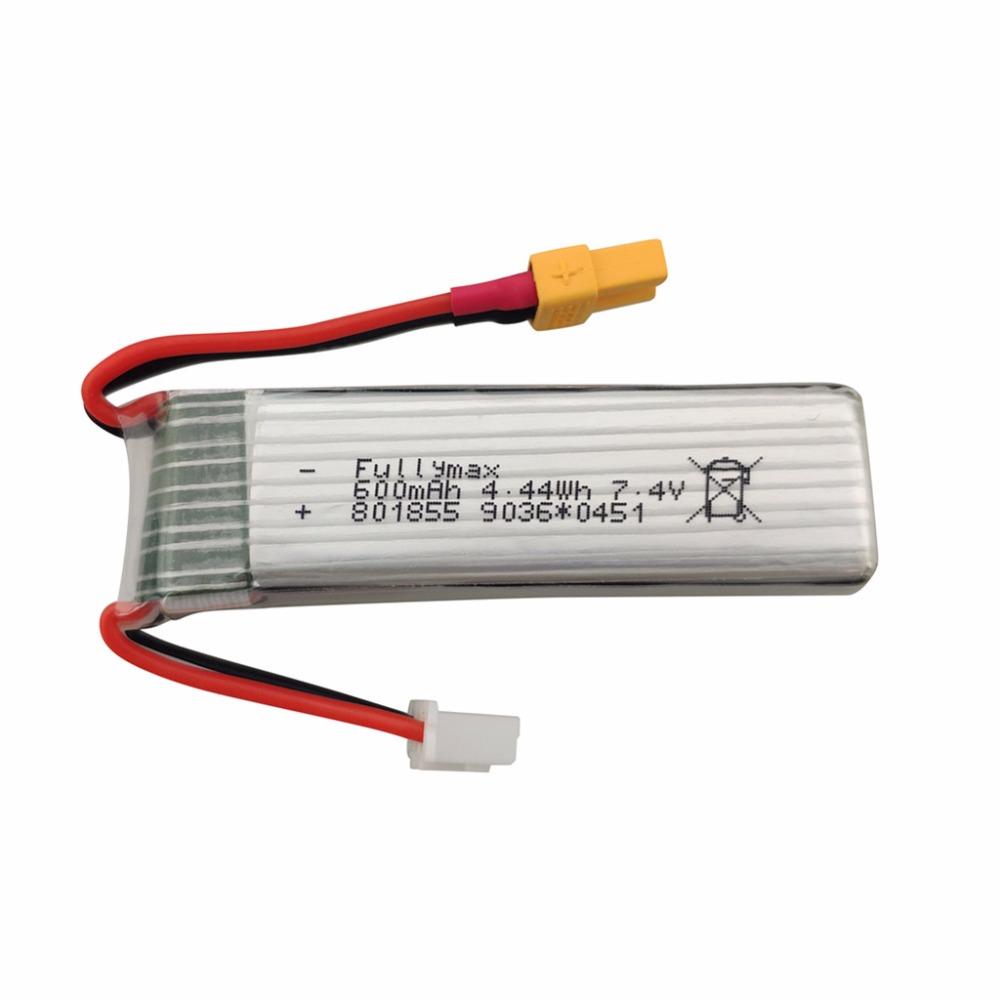7-4-V-600-mAh-Li-Batterie-fuer-XK-K130-Brushless-Aileron-3D-Hubschrauber-Zubehoer Indexbild 8
