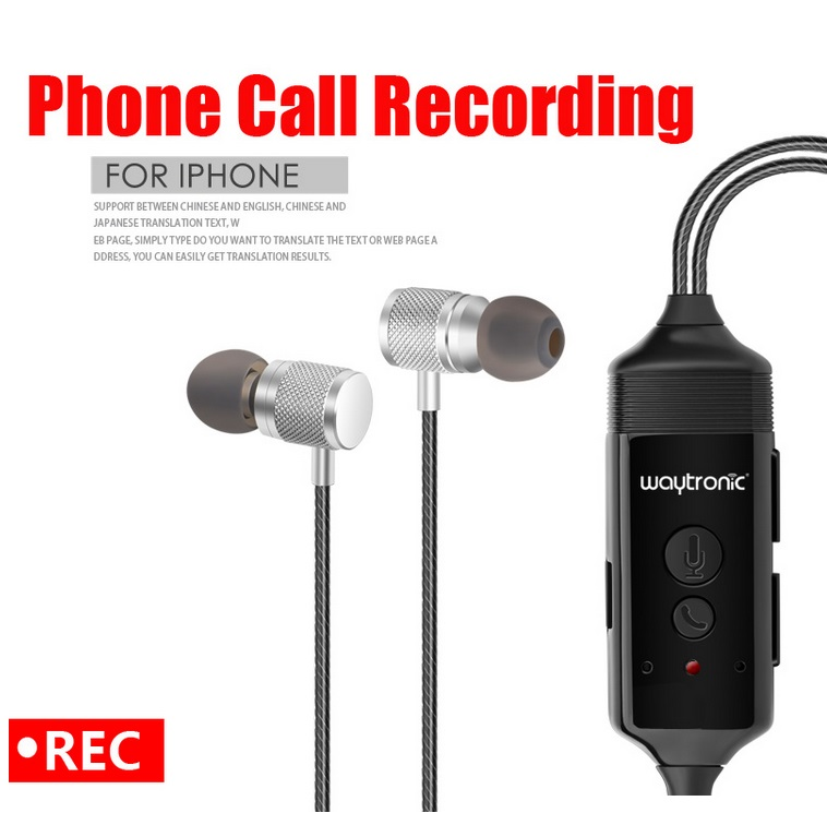 Details about Wireless Bluetooth Call Recorder Earphone for iPhone Android  Mobile Phone 512M