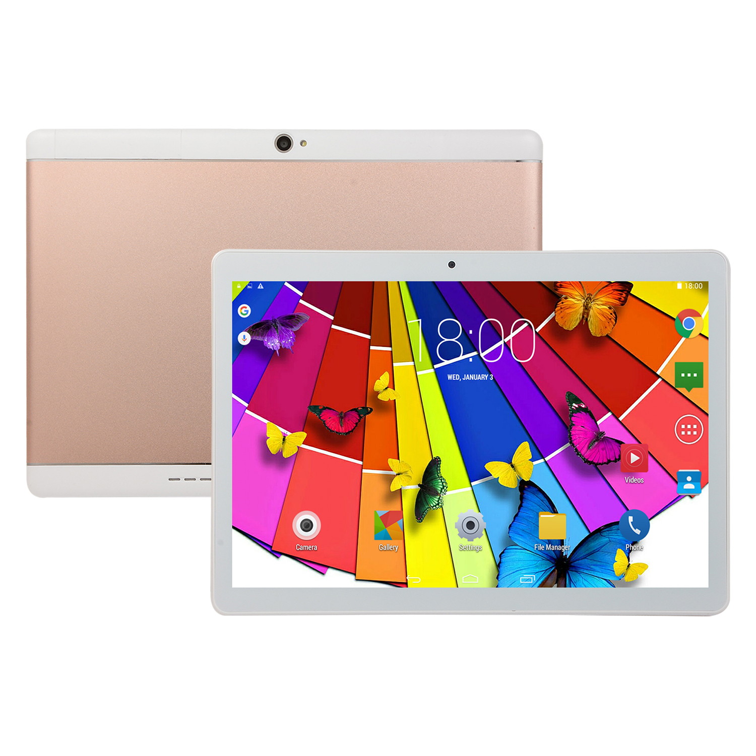 10-Inch-Tablet-Android-8-0-6-64GB-Tablet-PC-with-TF-Card-Slot-and-Dual-Camera miniature 12