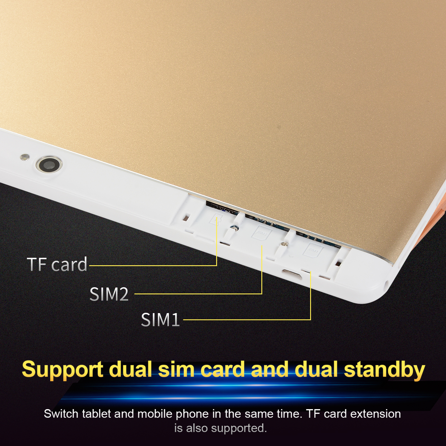 10-Inch-Tablet-Android-8-0-6-64GB-Tablet-PC-with-TF-Card-Slot-and-Dual-Camera miniature 7