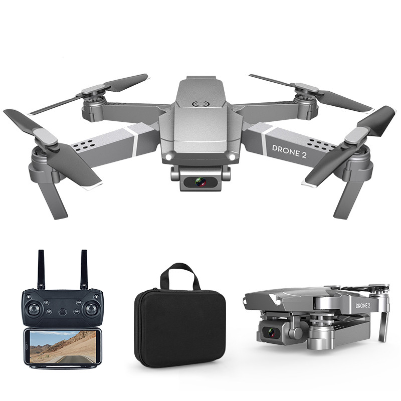 E68 RC Drone with 4K HD Wide Angle Camera Wifi 1080p Fpv Video Live Quadcopter