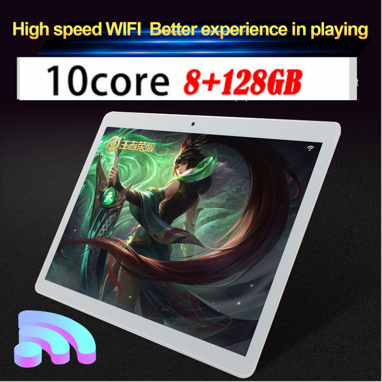 Details about 10 1 Inch Tablet Android 8 0 Bluetooth WiFi 3G PC 8+128G 2  SIM GPS Double Camera