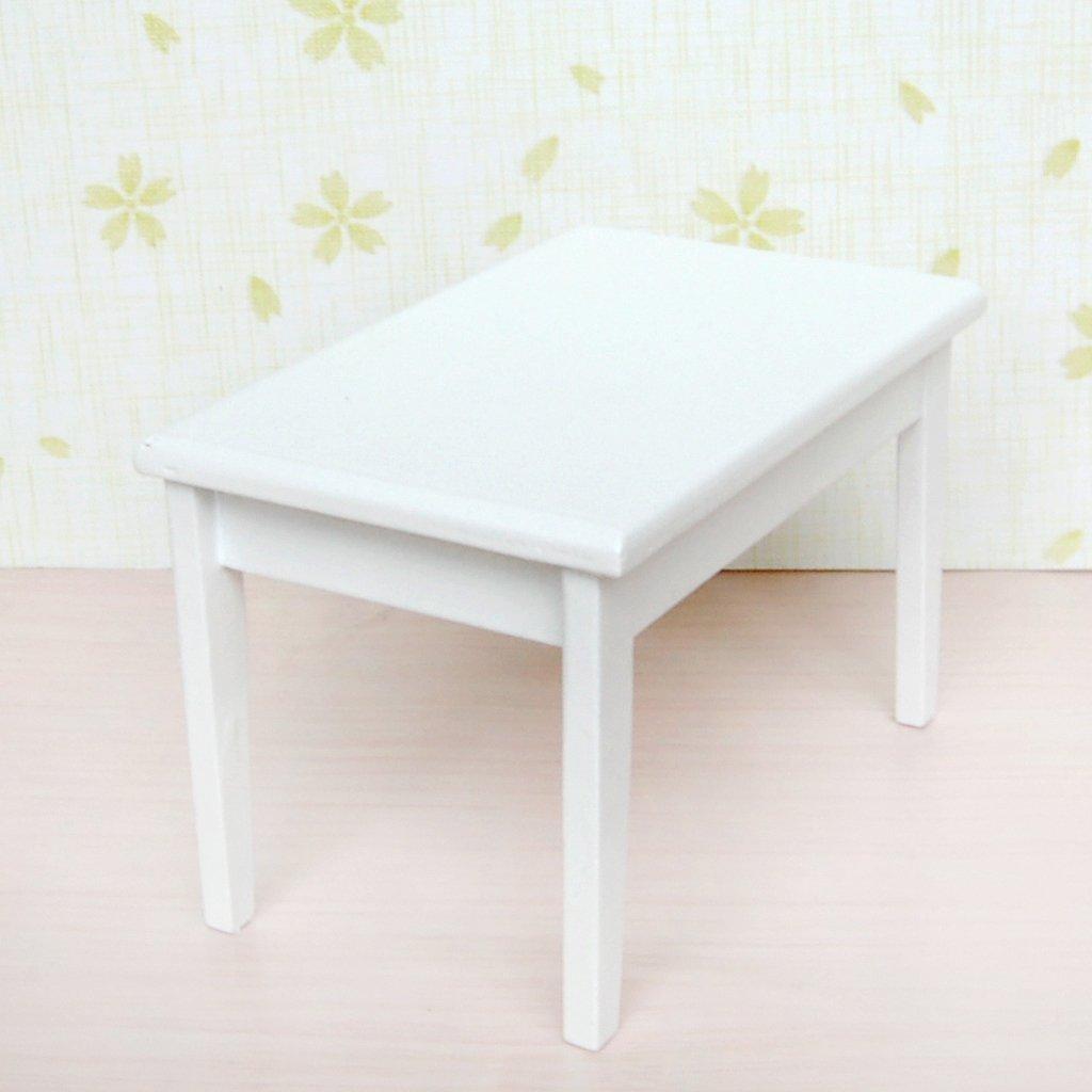 5 st cke 1 12 dollhouse esstisch stuhl modell set wei m bel tisch stuhl ebay. Black Bedroom Furniture Sets. Home Design Ideas
