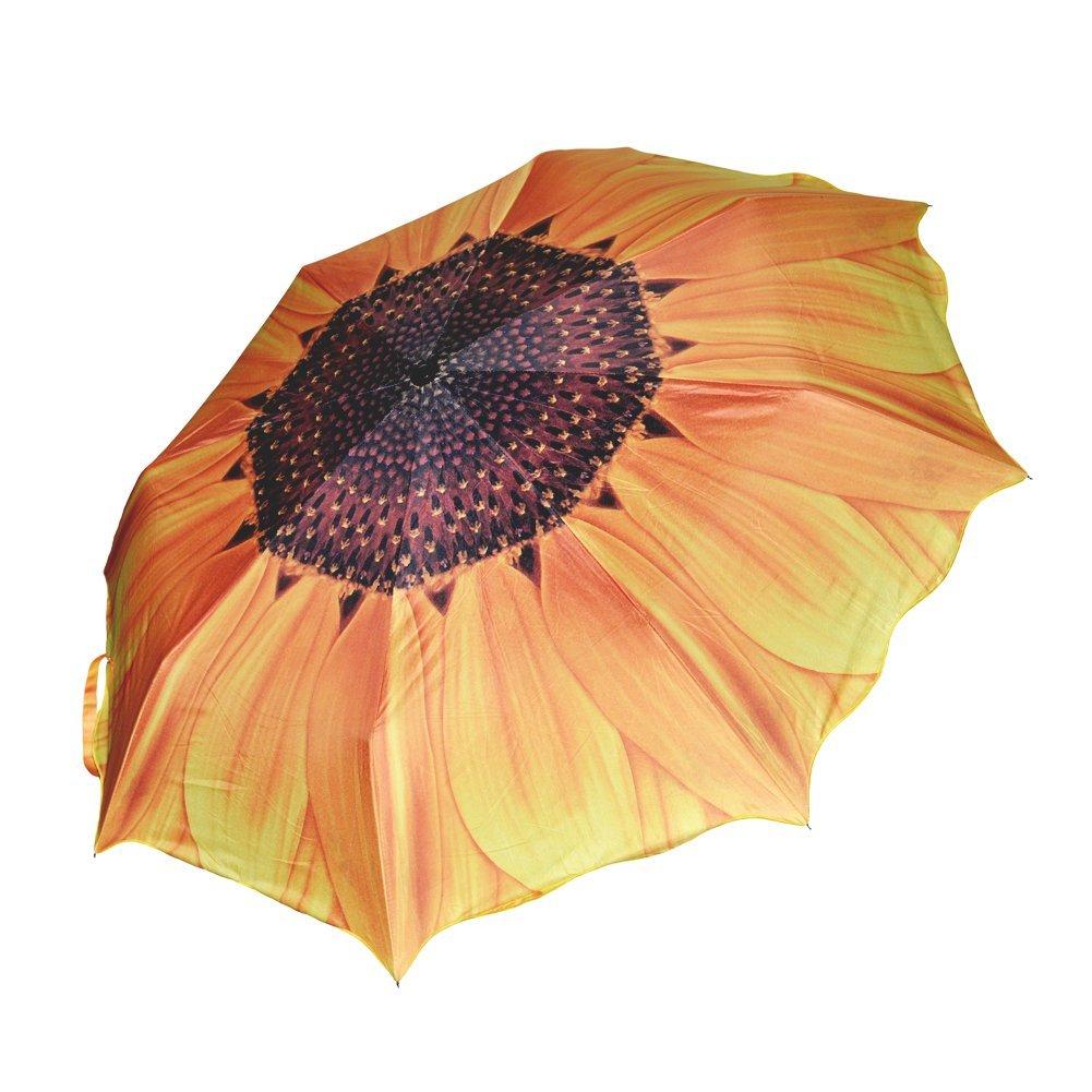 Anti Uv Sun Rain Umbrella Parasol Protection Windproof Flower