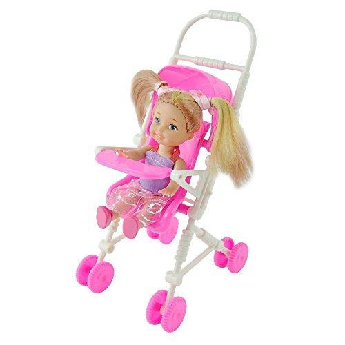 Puppenhaus kinderwagen kinderzimmerm bel baby baugruppe wagen f r doll ebay - Kinderzimmermobel baby ...