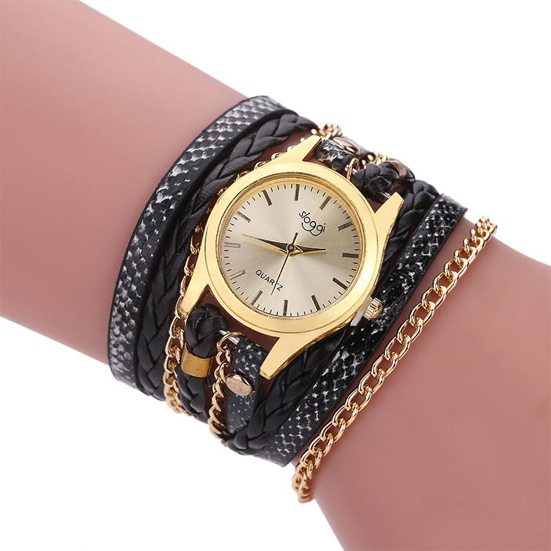 neu damen quartz uhr frauen vintage rhinestone crystal bracelet casual watch ebay. Black Bedroom Furniture Sets. Home Design Ideas