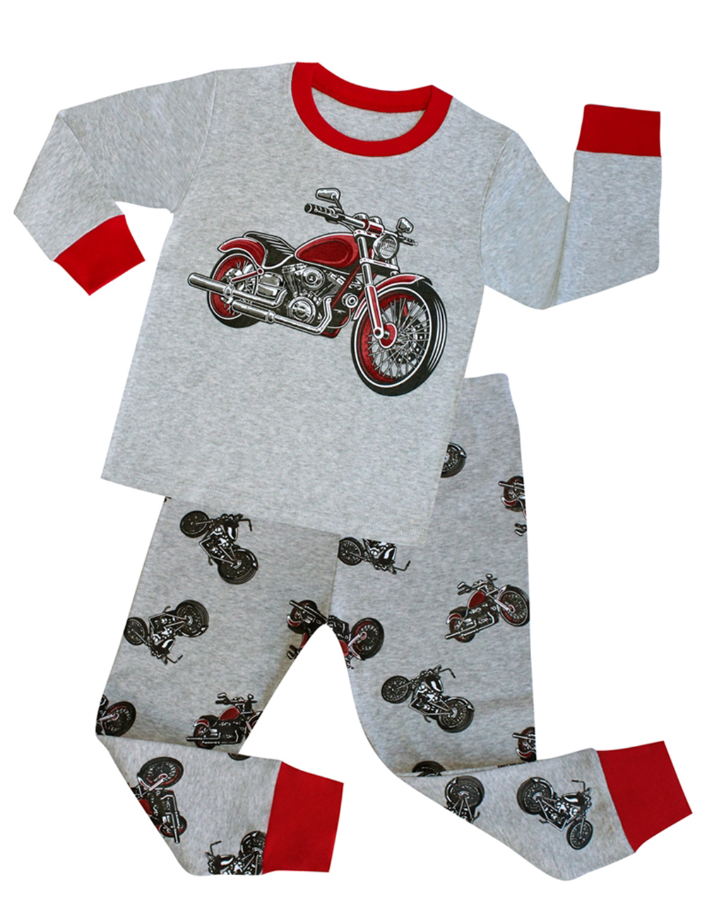 Baby Boy Girl Cute Soft Christmas Dinosaur Pajamas Set Sleepwear ...