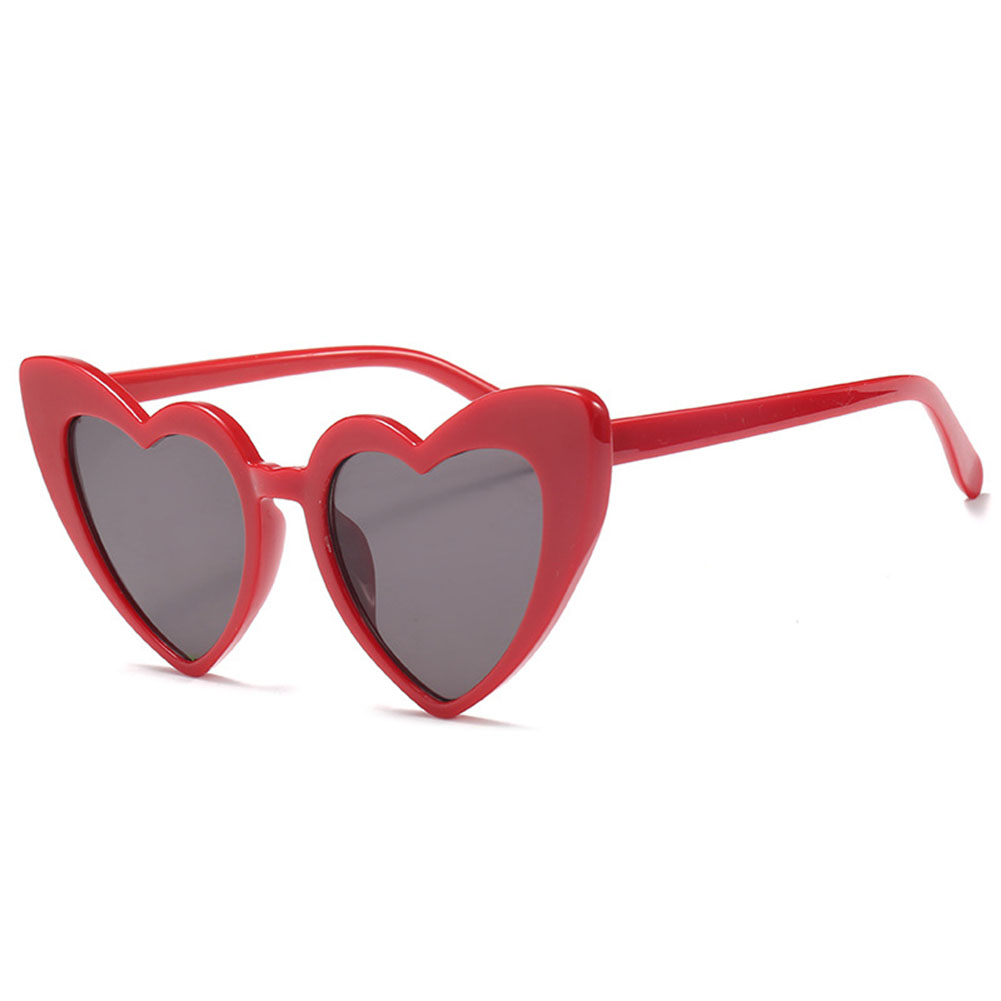 Fashion Funny Summer Love Heart Shaped Lolita Sunglasses Sun Glasses ...
