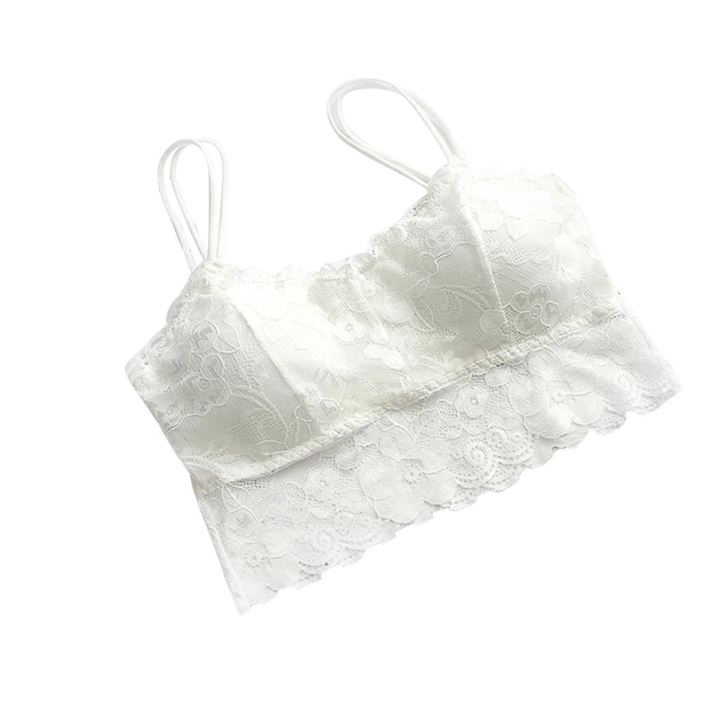 damen sexy bra soft lace spitze bh bustier bralette crop. Black Bedroom Furniture Sets. Home Design Ideas