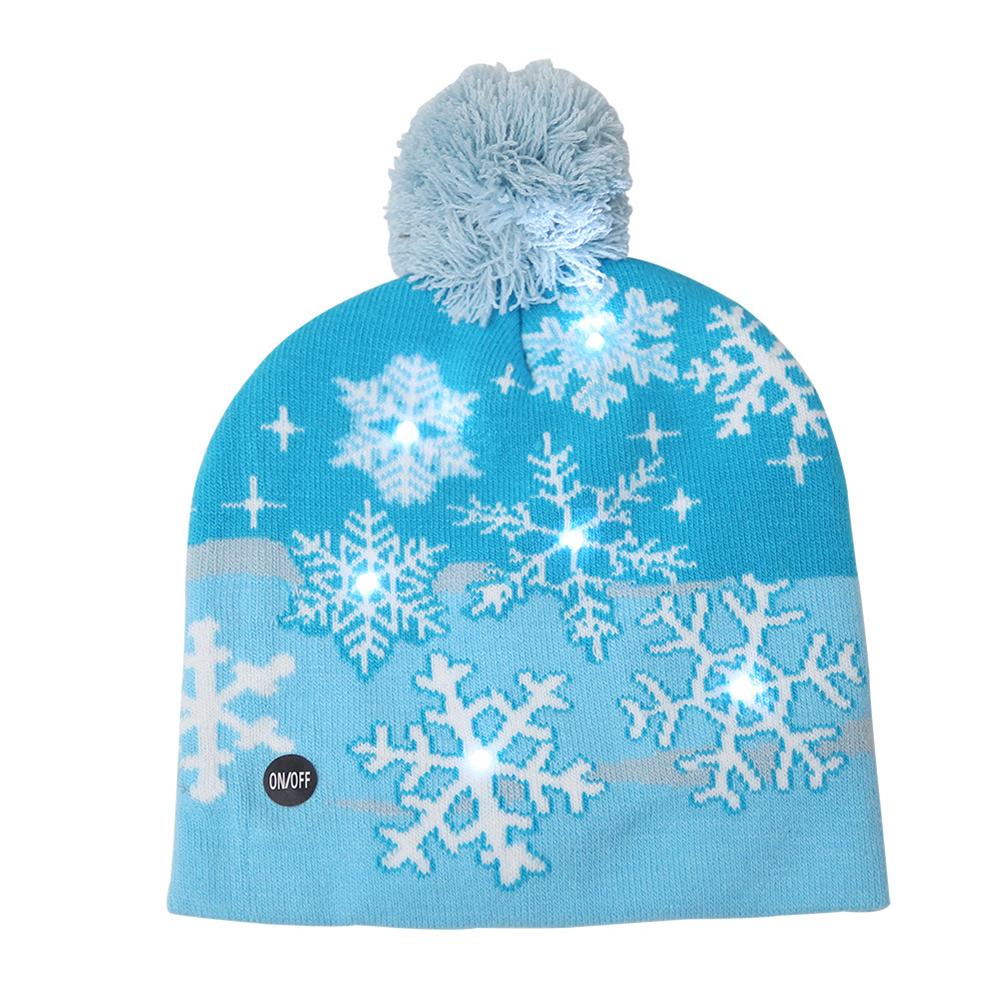 Cute Mini Woollen Knitted Hat Brooch Badge Pin Christmas Bobble Hat Beanie