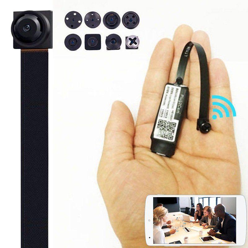 New Mini HD 1080P Wireless WIFI IP Spy Camera Hidden DIY Module DV DVR Nanny Cam