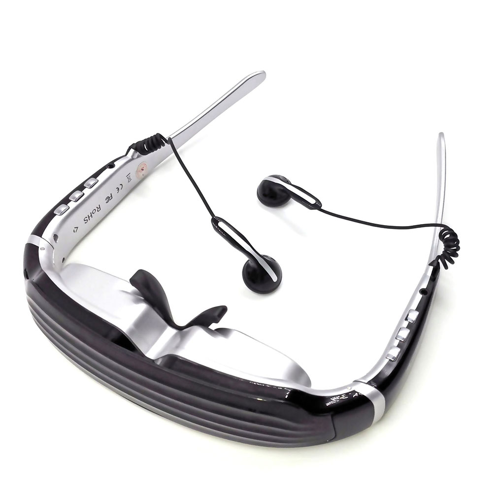 79f78330d33 Details about Multimedia Player 68   Virtual Screen Video Eyewear 3D Stereo  Theater VR Glasses