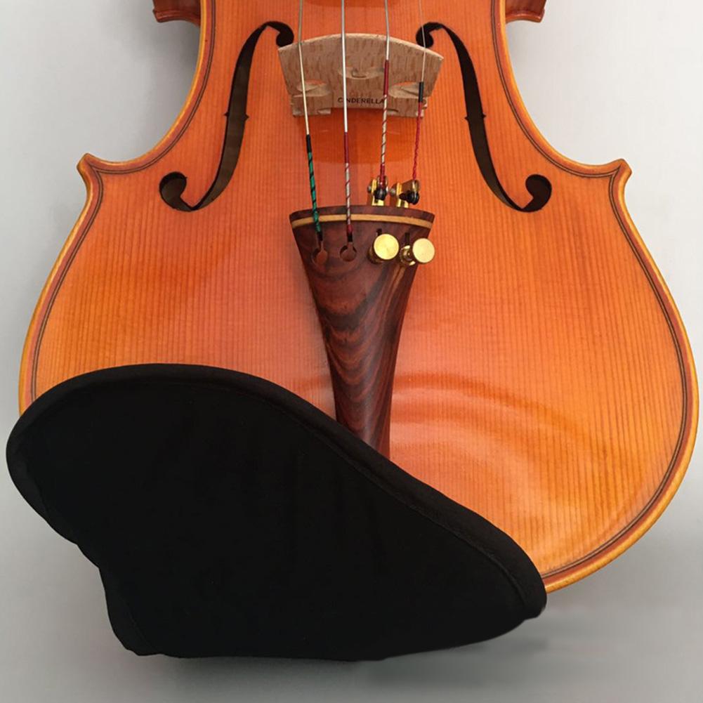 Baumwolle-Violine-Kinnstuetzenschutz-Fuer-1-4-1-8-1-2-3-4-4-4-Violine-Zubehoer Indexbild 3