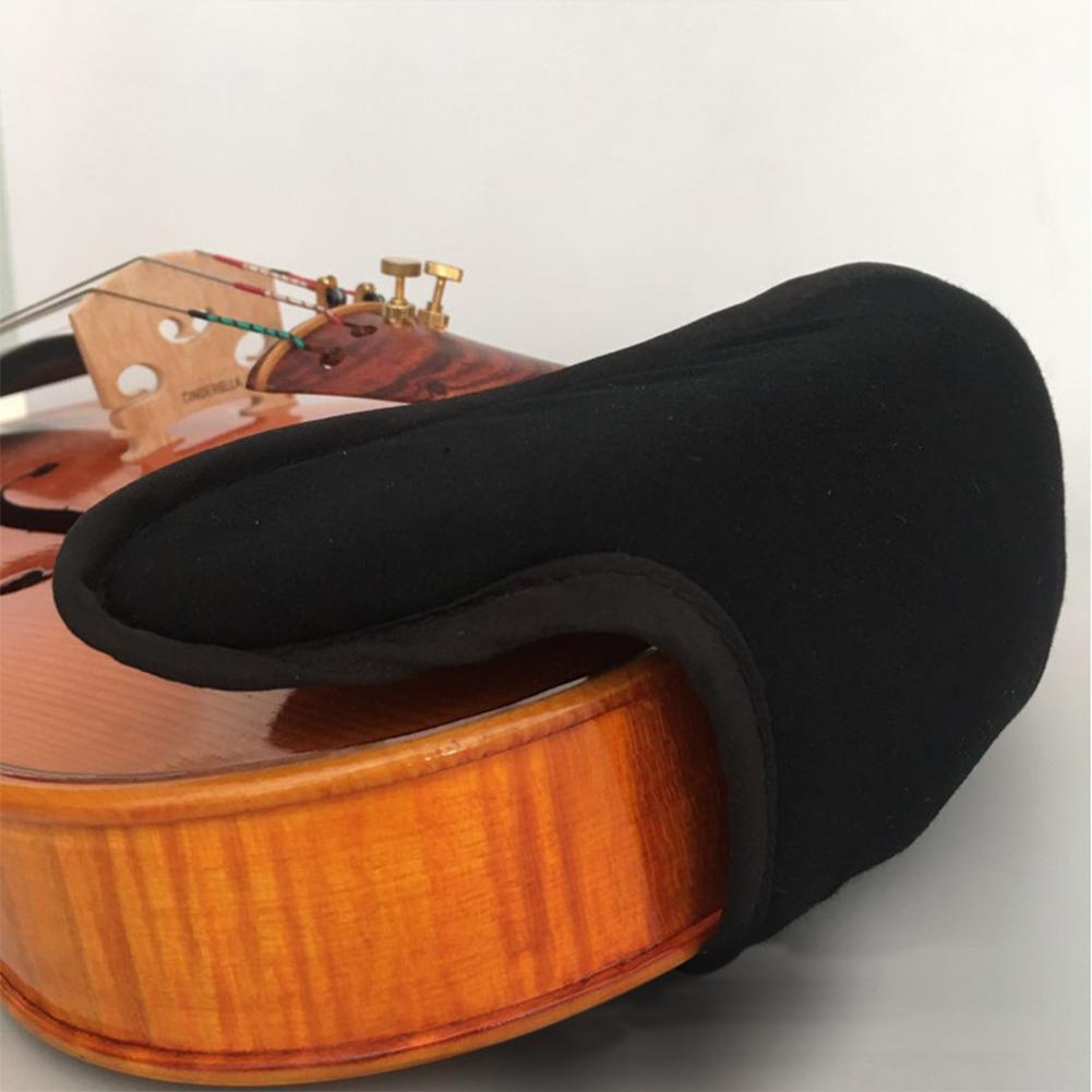 Baumwolle-Violine-Kinnstuetzenschutz-Fuer-1-4-1-8-1-2-3-4-4-4-Violine-Zubehoer Indexbild 6