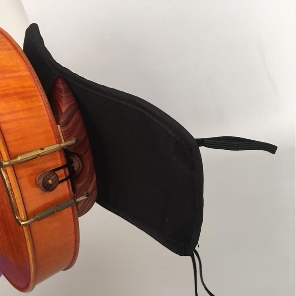 Baumwolle-Violine-Kinnstuetzenschutz-Fuer-1-4-1-8-1-2-3-4-4-4-Violine-Zubehoer Indexbild 7