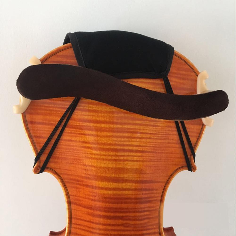 Baumwolle-Violine-Kinnstuetzenschutz-Fuer-1-4-1-8-1-2-3-4-4-4-Violine-Zubehoer Indexbild 8