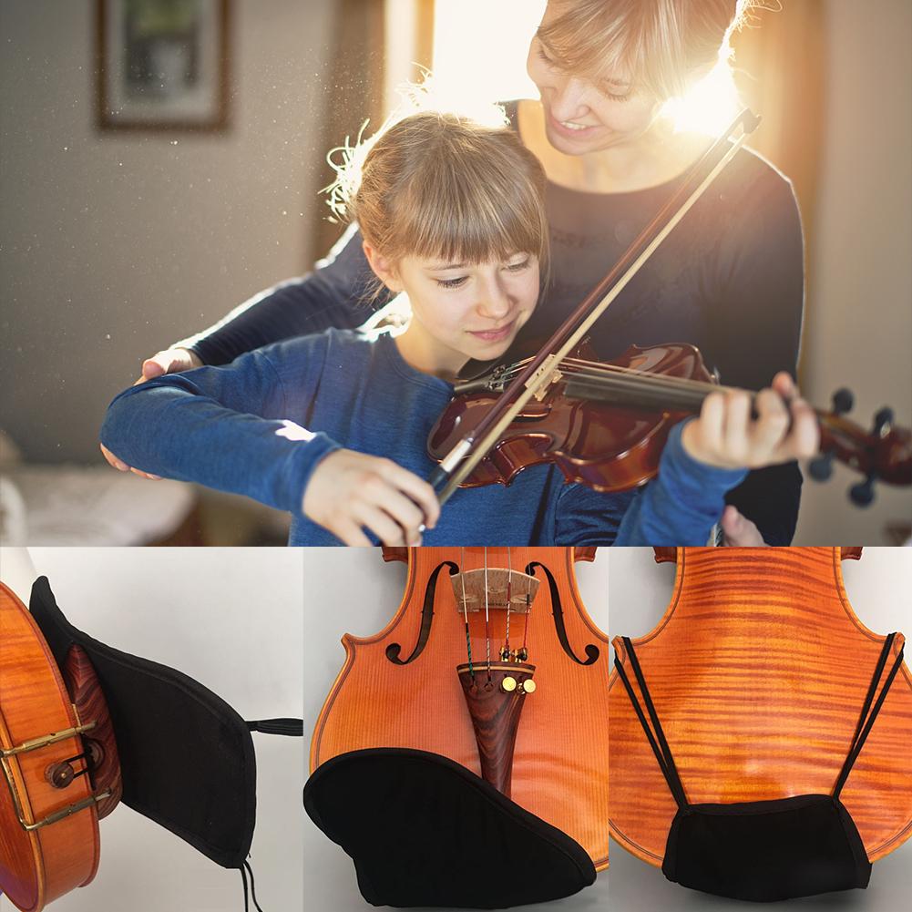 Baumwolle-Violine-Kinnstuetzenschutz-Fuer-1-4-1-8-1-2-3-4-4-4-Violine-Zubehoer