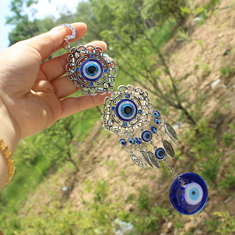 Blue-Evil-Eye-Amulet-Turkish-Wall-Hanging-Home-Decor-Blessing-Gift-Lucky-Pendant