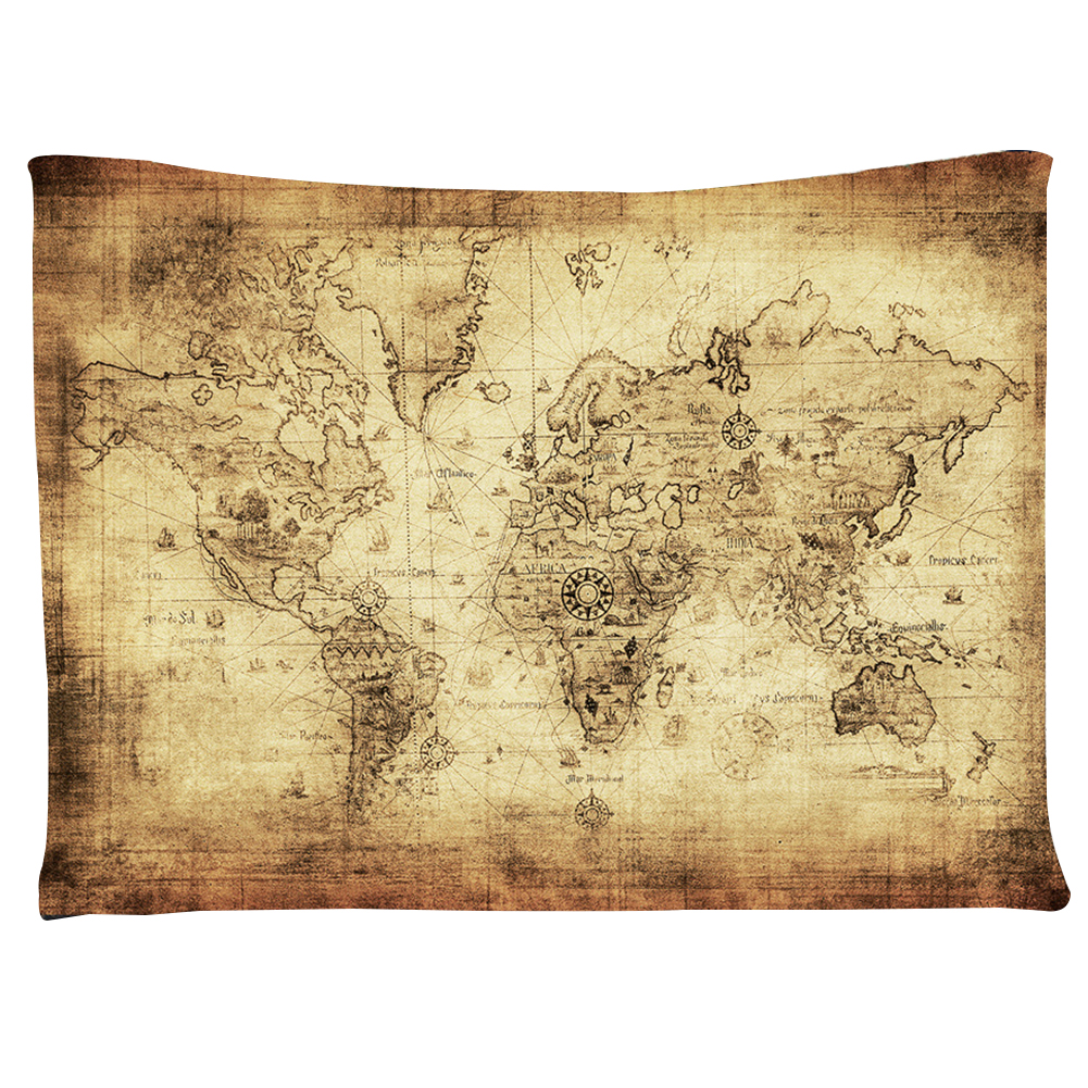 Tapestry Wall Hanging Milky Way Map Bedspread Throw Blanket Home ...