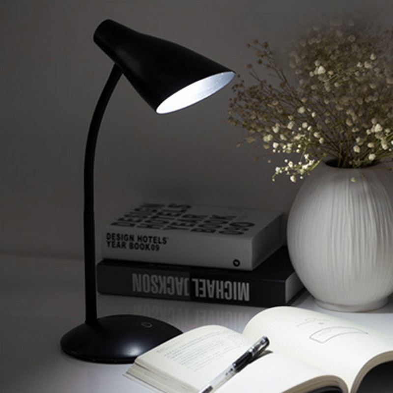 Elegant usb charged led table lamp with clip eye protection study picture 7 of 7 aloadofball Gallery
