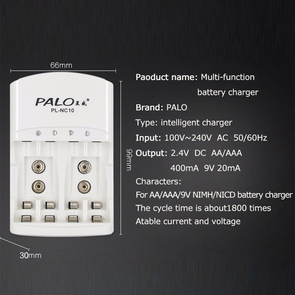 Multi Function Charger For Aa Aaa Ni Mh 9v Cd Intelligent Simple Circuit Schematic Multiple Battery Nicd And Nimh