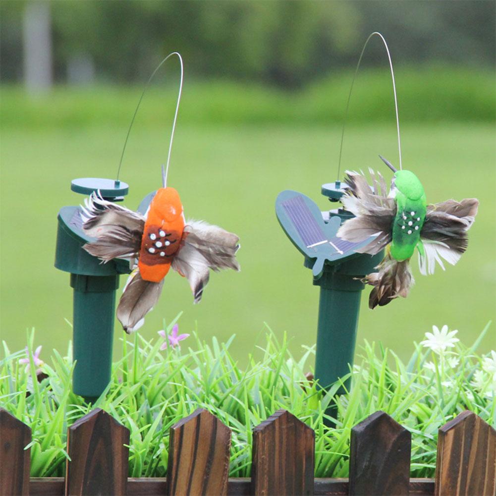 Cute Solar Powered Dancing Flying Fluttering Butterflies Garden Yard ...