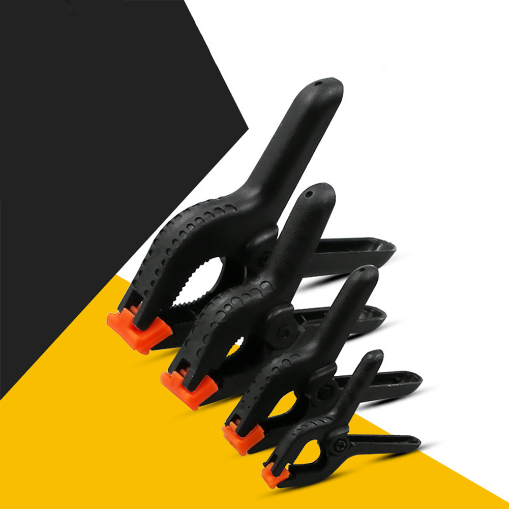 """details about plastic a-shape woodworking clip hand screw clamp fixing  clamp pinch cock 2-6"""""""