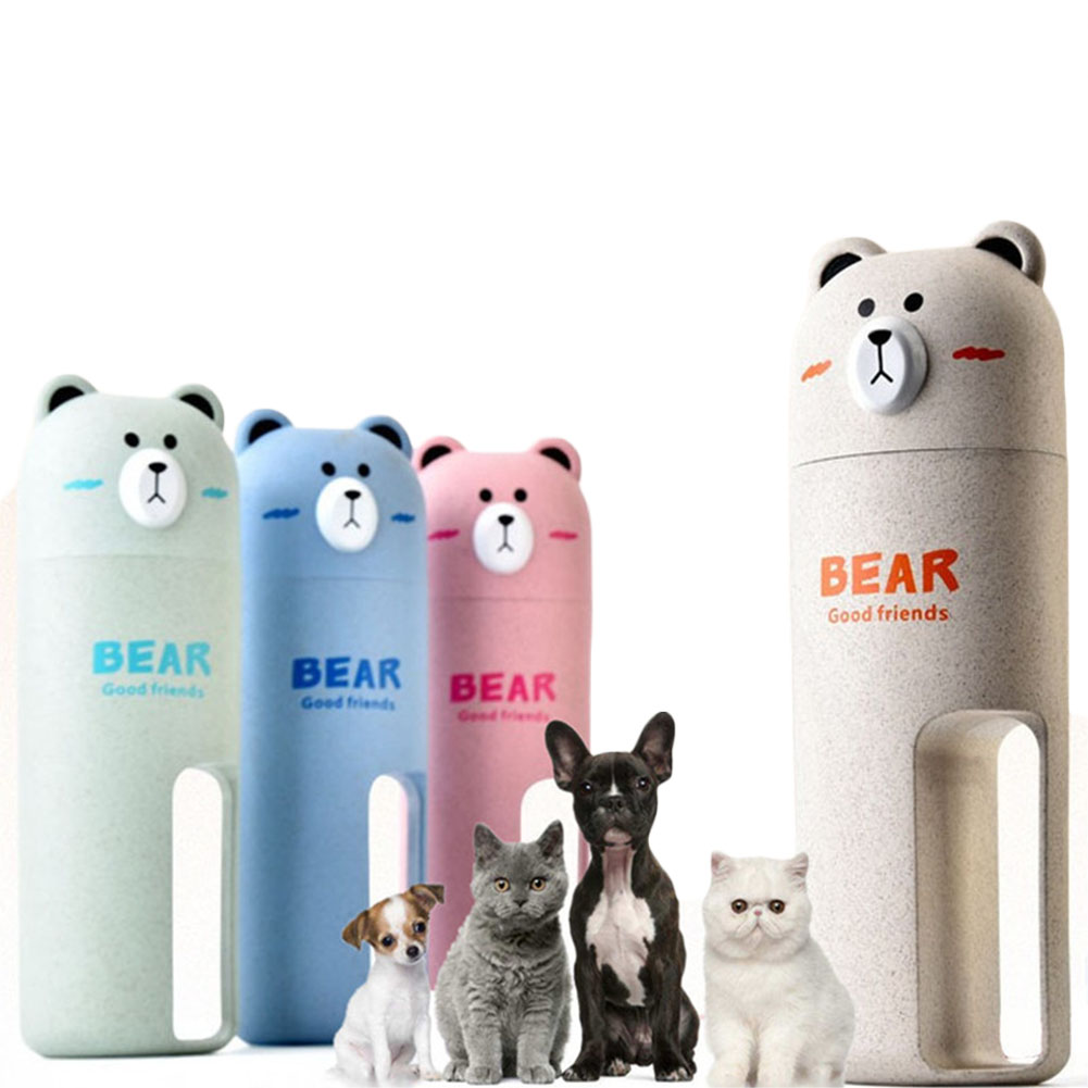 Pet Water Cup Food Storage Bottle Travel Bowl Container Outdoor Feeder Dog Dish  sc 1 st  eBay & Pet Water Cup Food Storage Bottle Travel Bowl Container Outdoor ...