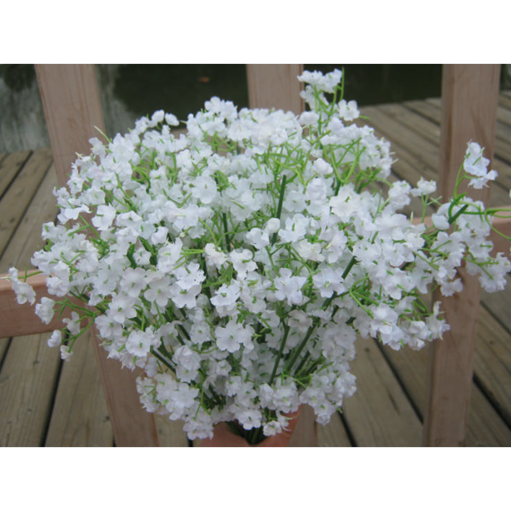 Gypsophila Bride Holding Flowers Simulation Flower For Wedding