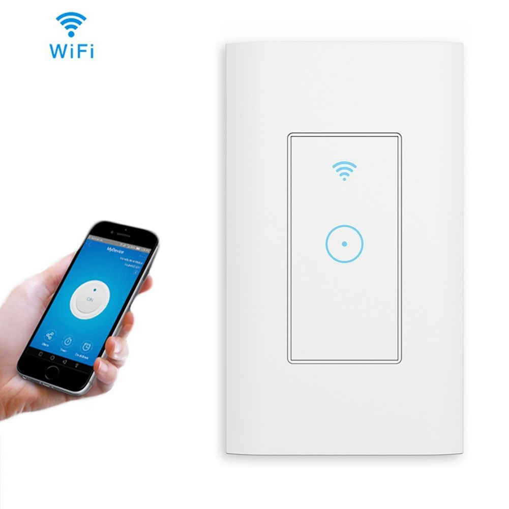 Details about Home Smart WIFI Light Switch Works W/ Alexa Google Home IFTTT  Smart Life US Plug