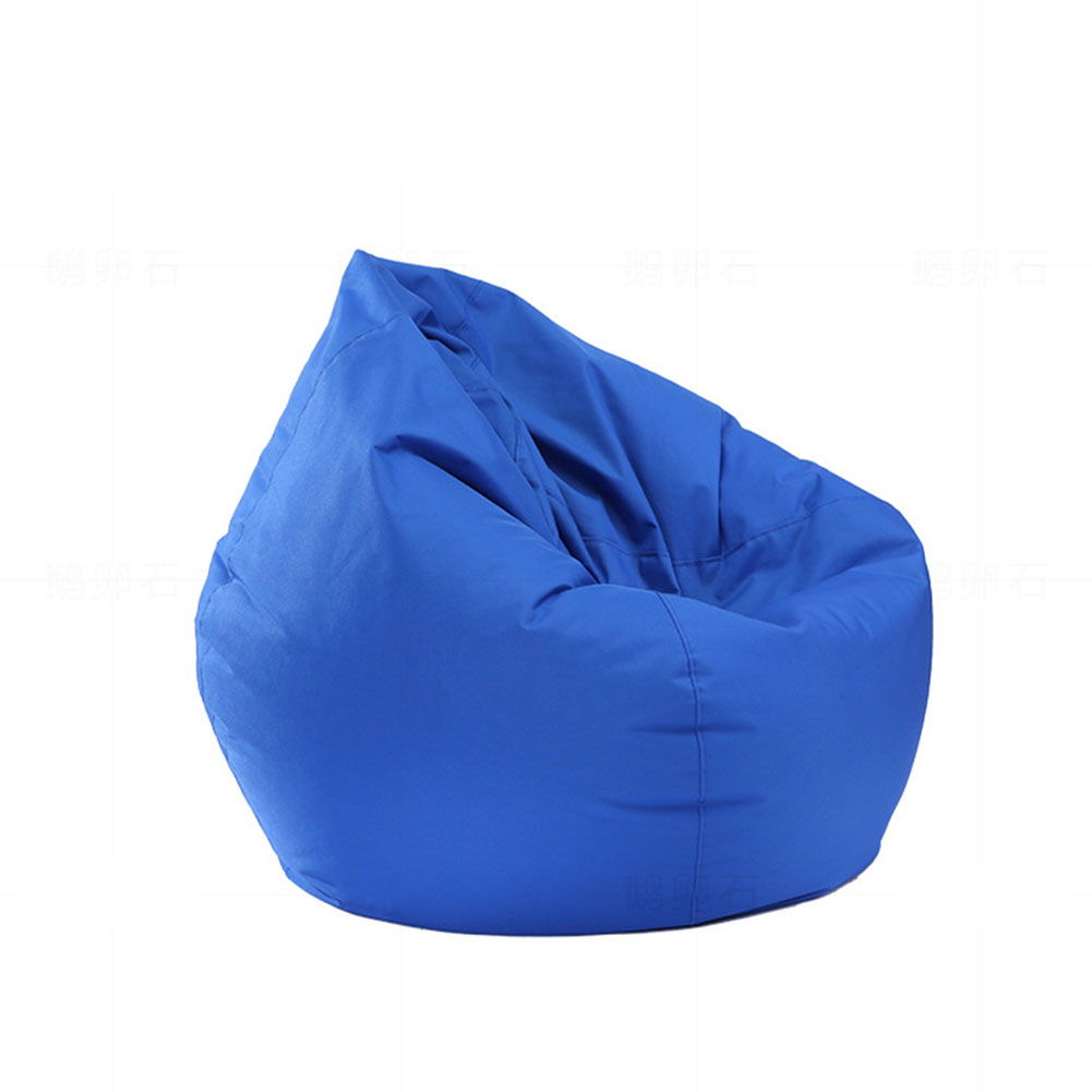waterproof stuffed animal storage bean bag chair cover extra large beanbag ebay. Black Bedroom Furniture Sets. Home Design Ideas